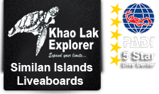 Khao Lak Liveaboard to Similan Islands